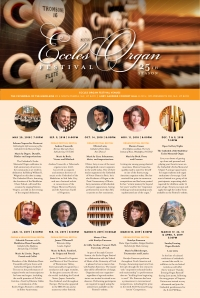 Announcing the Twenty-Fifth Season of the Eccles Organ Festival