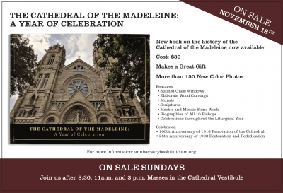 Cathedral Anniversary Book Now On Sale!