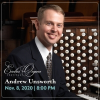 Tabernacle Organist Andrew Unsworth to perform on November 8